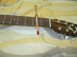 my capo in guitar
