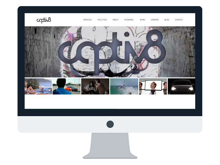 Captiv8 Website